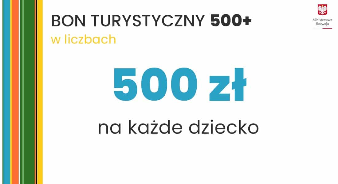 Bon turystyczny 500 plus na dziecko graf 4